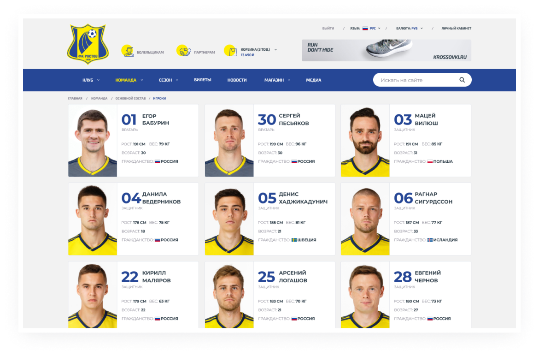 FC Rostov – 8