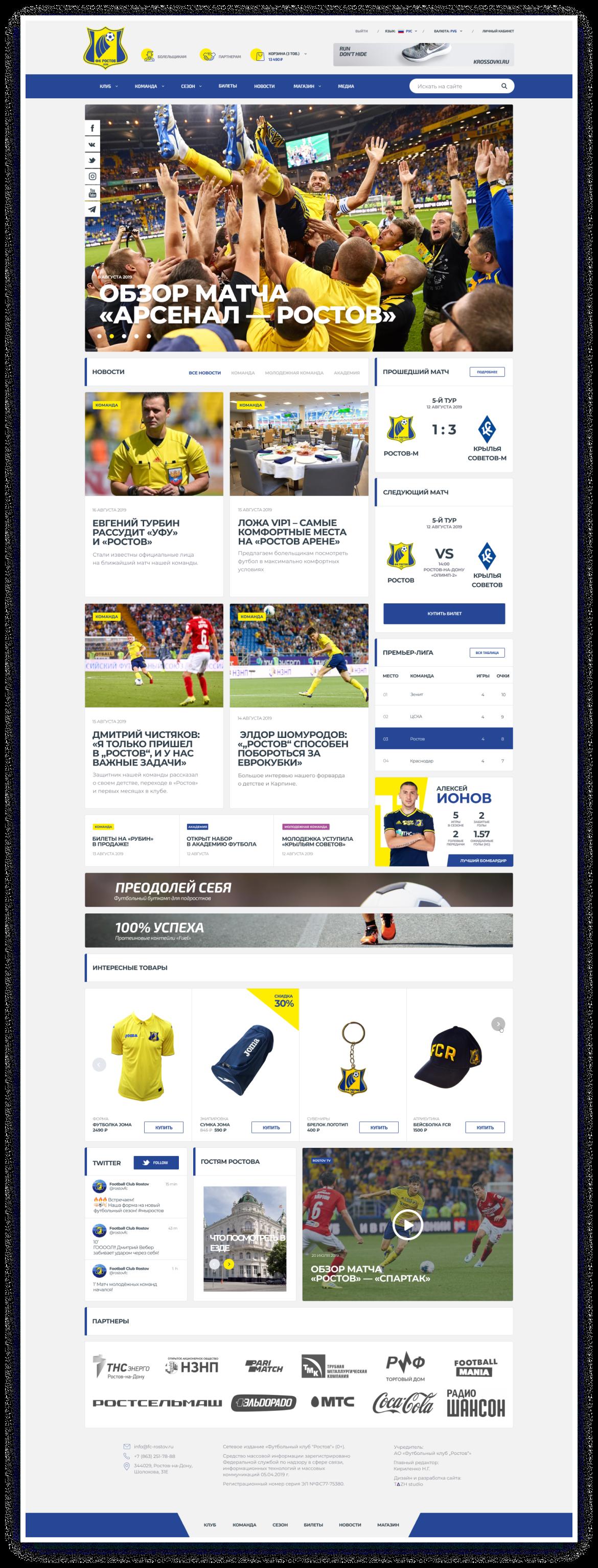 FC Rostov – 6
