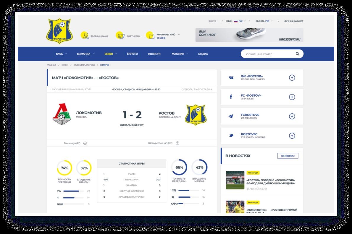 FC Rostov – 15